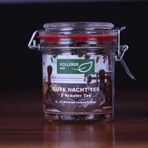 Kollerer's Gute Nacht Tee im Glas Kollerer Hof