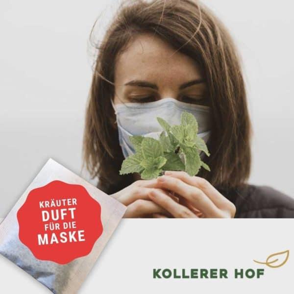 Besser riecht das - Kräuter Duft für die FFP2 Maske